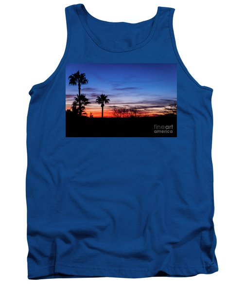 Palm Shadows II Tank Top