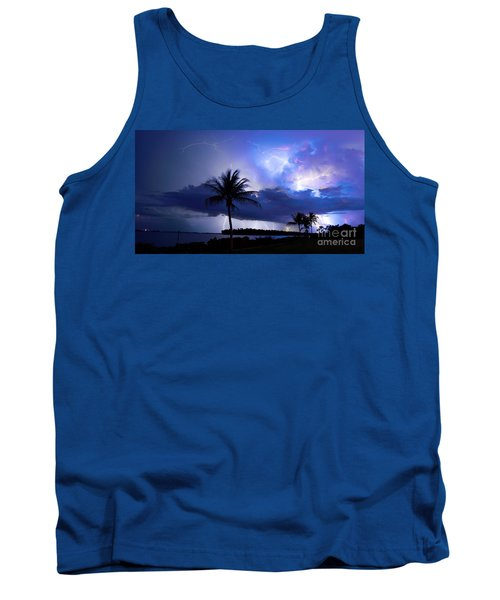 Palm Tree Nights Tank Top