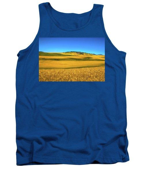Palouse Wheat Field Tank Top