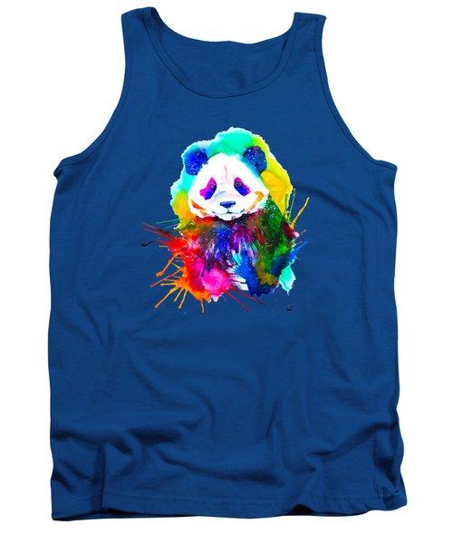 Panda Splash Tank Top