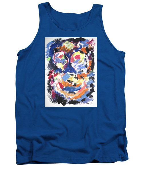 Tank Top featuring the painting Partial Blackout by Esther Newman-Cohen