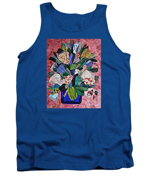 Patchwork Bouquet Tank Top