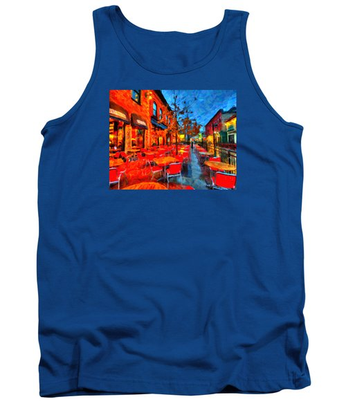 Patio Tank Top by Andre Faubert