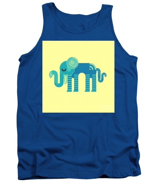 Pattern Elephant Tank Top