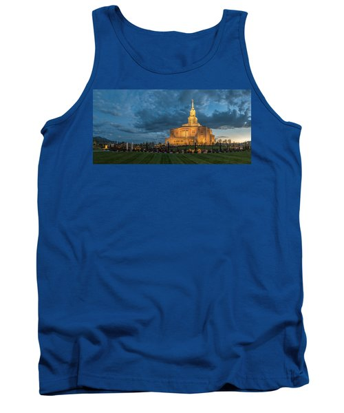 Payson Temple Panorama Tank Top