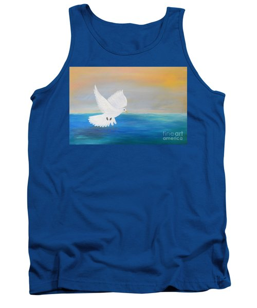 Peace Descending Tank Top