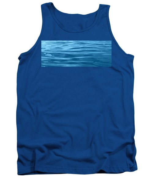 Peaceful Blue Tank Top