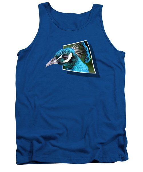 Peacock Tank Top by Shane Bechler