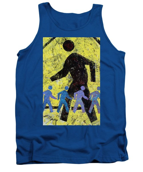 Pedestrian Crossing Tank Top