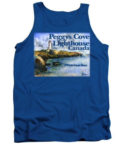 Peggys Cove Lighthouse Shirt Tank Top
