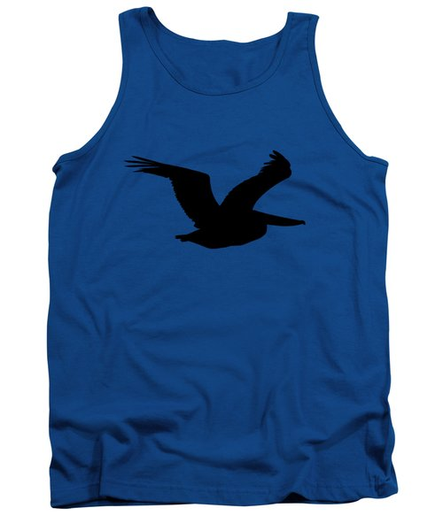 Pelican Profile .png Tank Top by Al Powell Photography USA