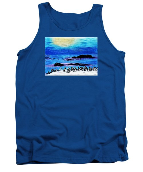 Penguins Land Tank Top