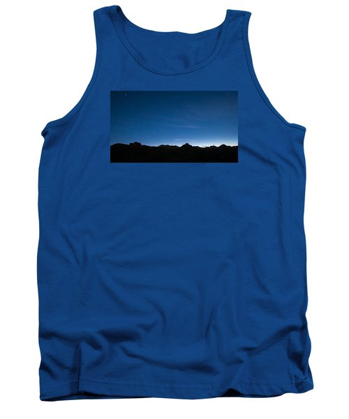 Tank Top featuring the photograph Peralta Trail At Sunrise by Monte Stevens