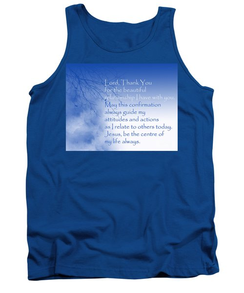 Perfect Relationship Tank Top by Trilby Cole