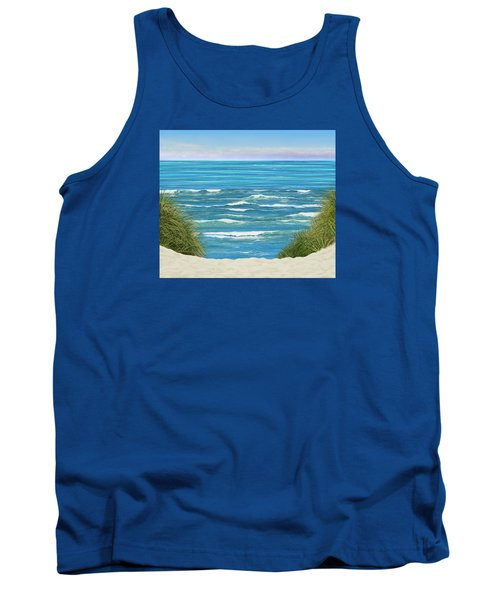 Tank Top featuring the photograph Perfect Seas by Adria Trail