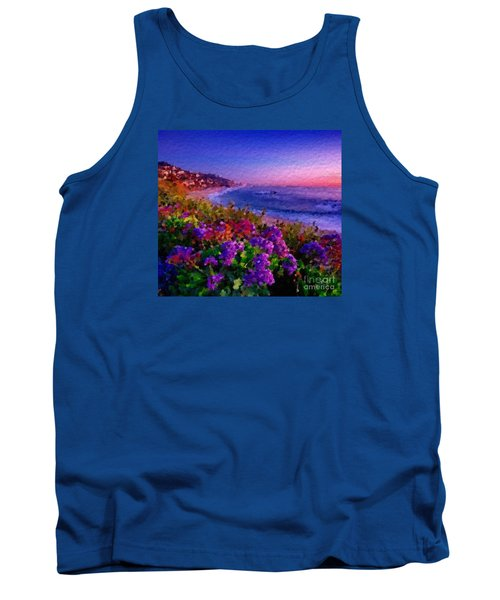 Tank Top featuring the digital art Perfect Sunset by Anthony Fishburne