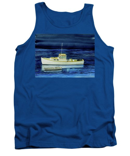 Perkins Cove Lobster Boat And Skiff Tank Top