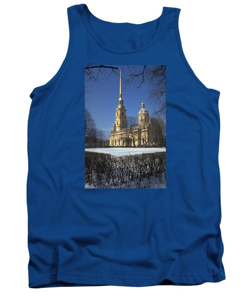 Peter And Paul Cathedral Tank Top by Travel Pics