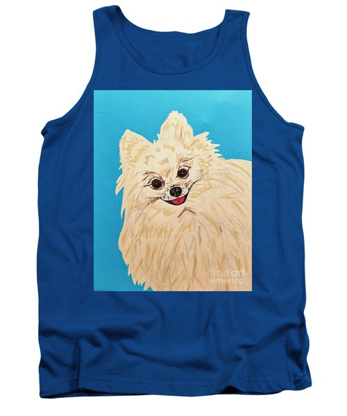 Phebe Date With Paint Nov 20th Tank Top
