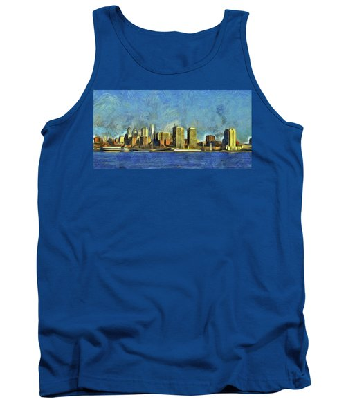 Philly Skyline Tank Top by Trish Tritz