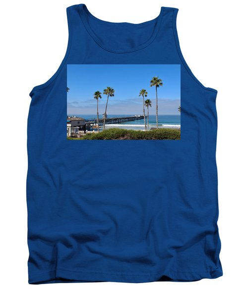 Pier And Palms Tank Top