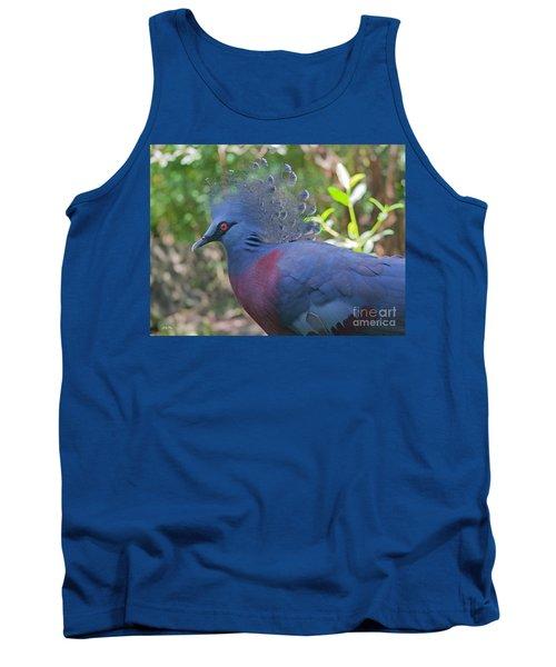 Pigeon Elegante Tank Top by Judy Kay
