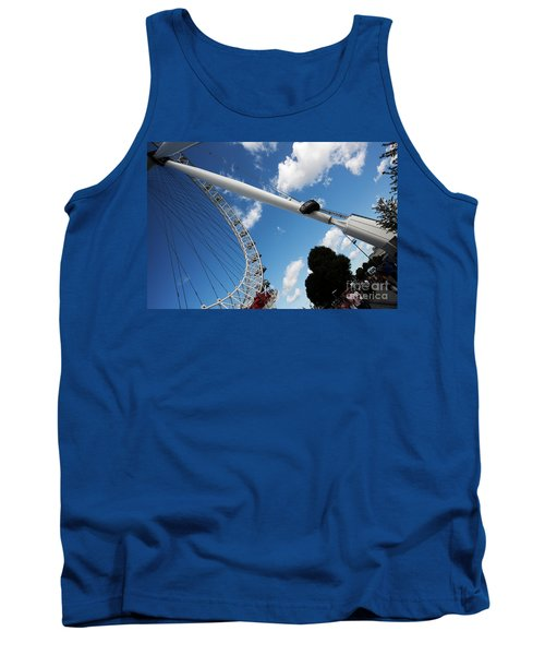 Pillar Of London S Ferris Wheel  Tank Top