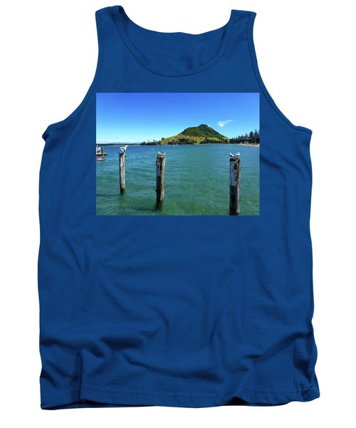 Pilot Bay Beach 3 - Mt Maunganui Tauranga New Zealand Tank Top
