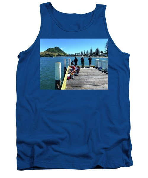 Pilot Bay Beach 7 - Mt Maunganui Tauranga New Zealand Tank Top