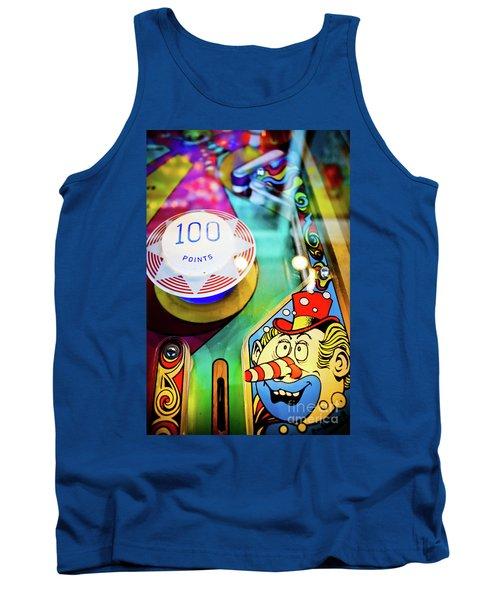 Pinball Art - Clown Tank Top
