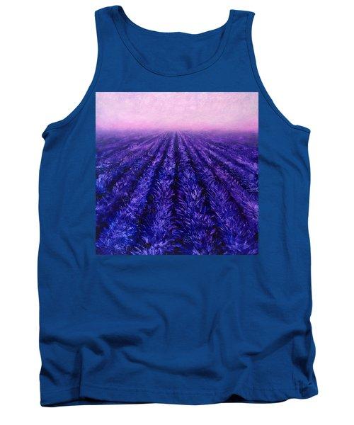 Pink Skies - Lavender Fields Tank Top