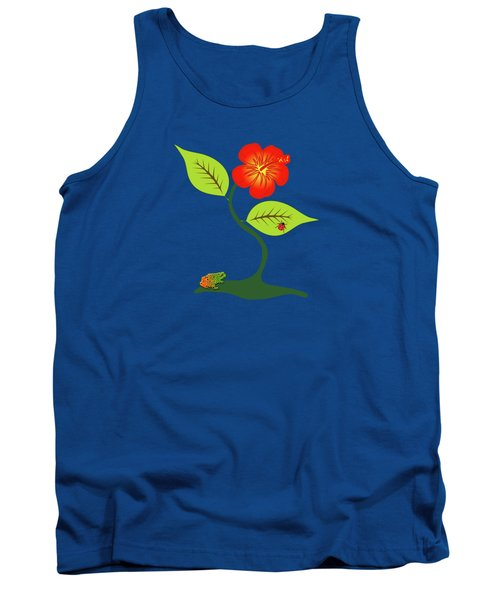Plant And Flower Tank Top by Gaspar Avila