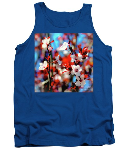 Plants And Flowers Tank Top