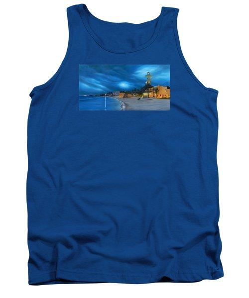 Playa De Noche Tank Top