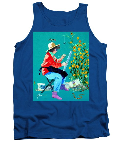 Plein Air Painter  Tank Top