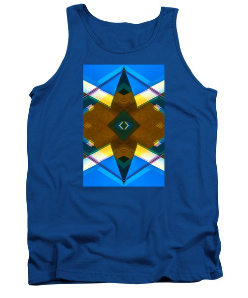 Poetry Foundation Library N86 V2 Tank Top by Raymond Kunst