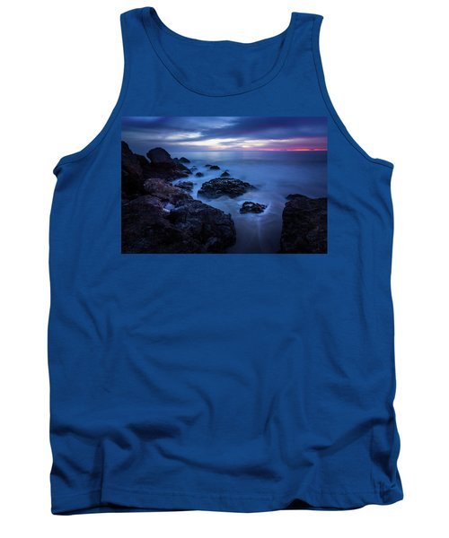Point Dume Rock Formations Tank Top
