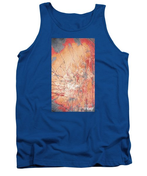 Tank Top featuring the photograph Pond In Fall by William Wyckoff