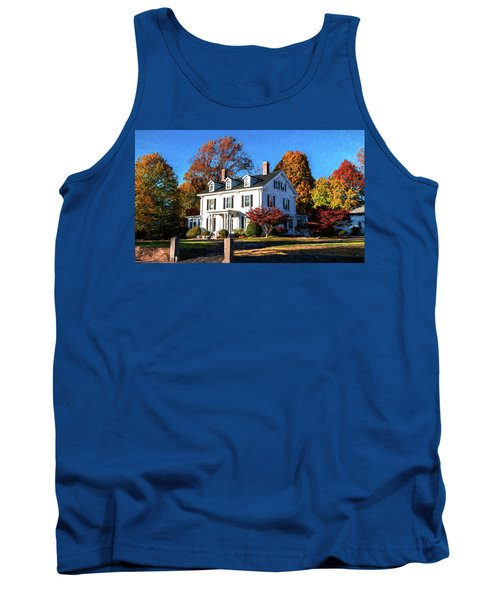 Pond Street Life In Jp Tank Top