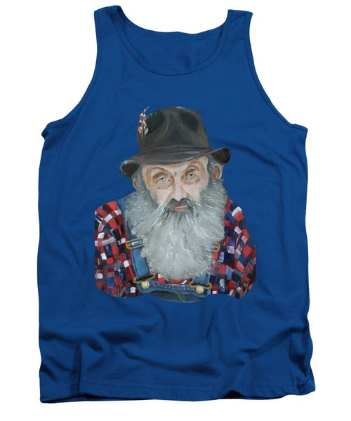 Popcorn Sutton Moonshiner Bust - T-shirt Transparent Tank Top