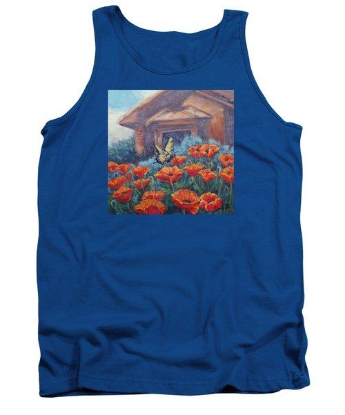Poppy Paradise Tank Top