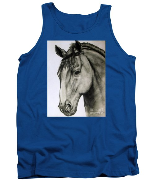 Portrait Of A Horse Tank Top