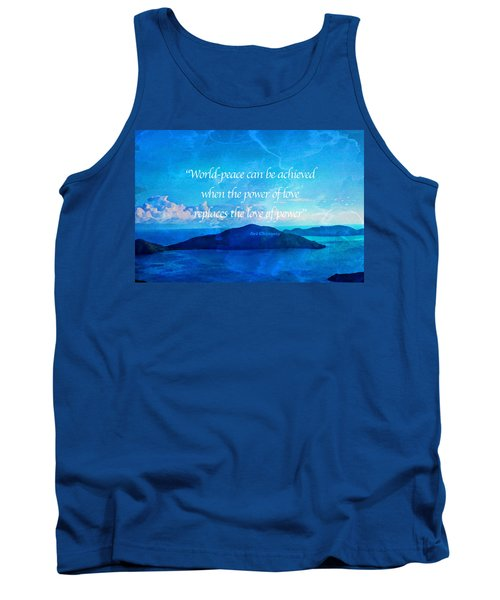 Power Of Love Tank Top