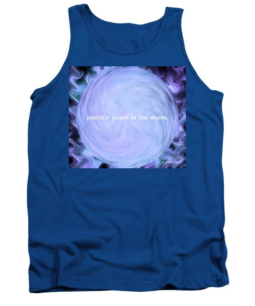 Practice Peace In The Storm Tank Top