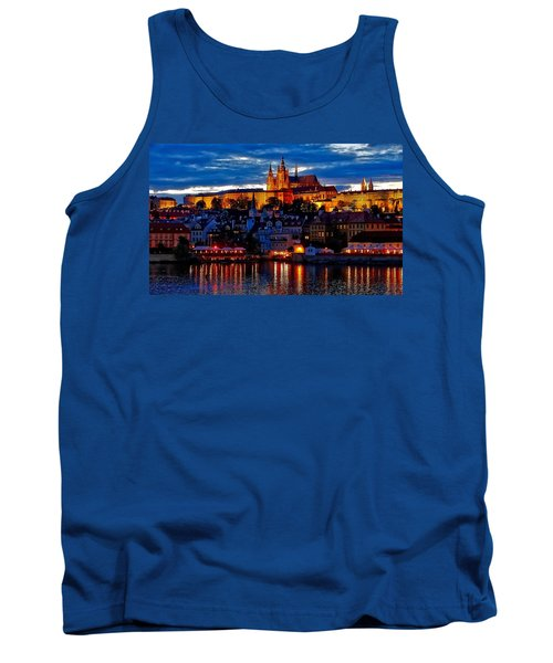 Prague Castle In The Evening Tank Top