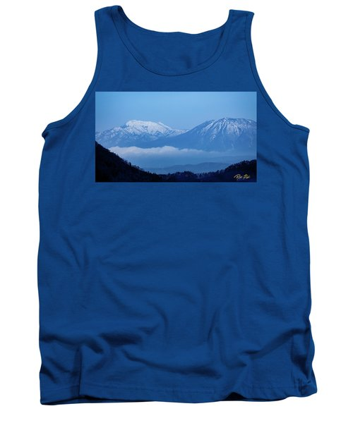 Tank Top featuring the photograph Predawn Peaks by Rikk Flohr
