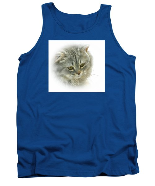 Tank Top featuring the photograph Pretty Kitty by Debbie Stahre