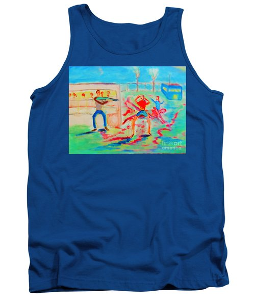 Prevention Of Shootings Memorial Tank Top