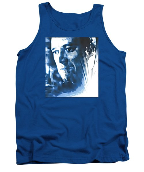 Tank Top featuring the photograph Profile Of An Eccentric Doctor by Mario Carini