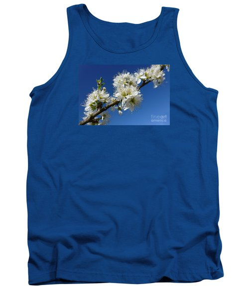 Promise Of Spring Tank Top by Jean Bernard Roussilhe